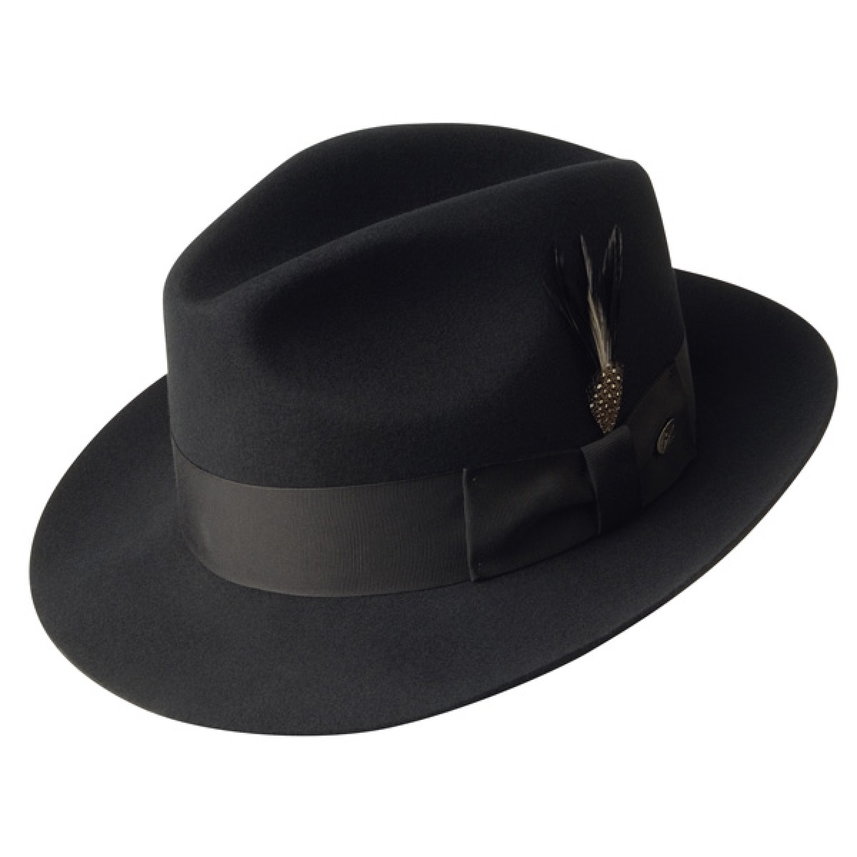 fedora hats bailey gangster - wool fedora hat TOUAMEL