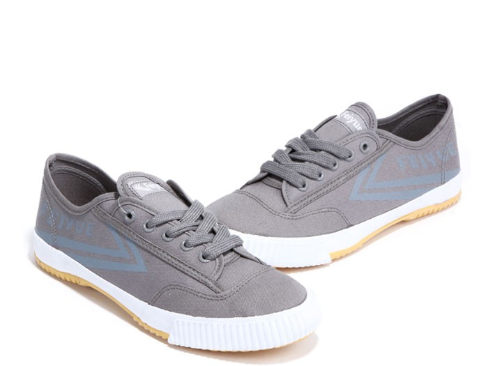 feiyue plain canvas sneakers - grey shoes GLRJQIB