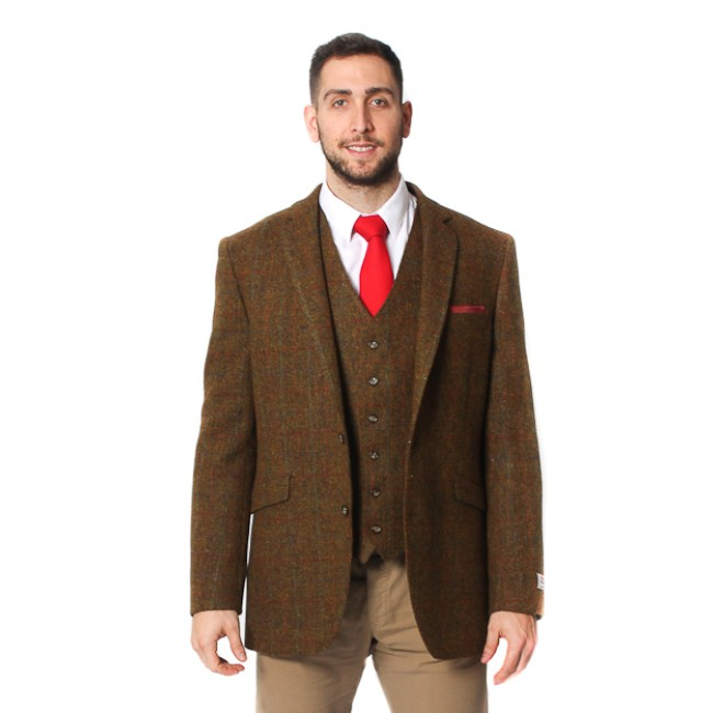 finlay harris tweed jacket by brook taverner RLVTJHL