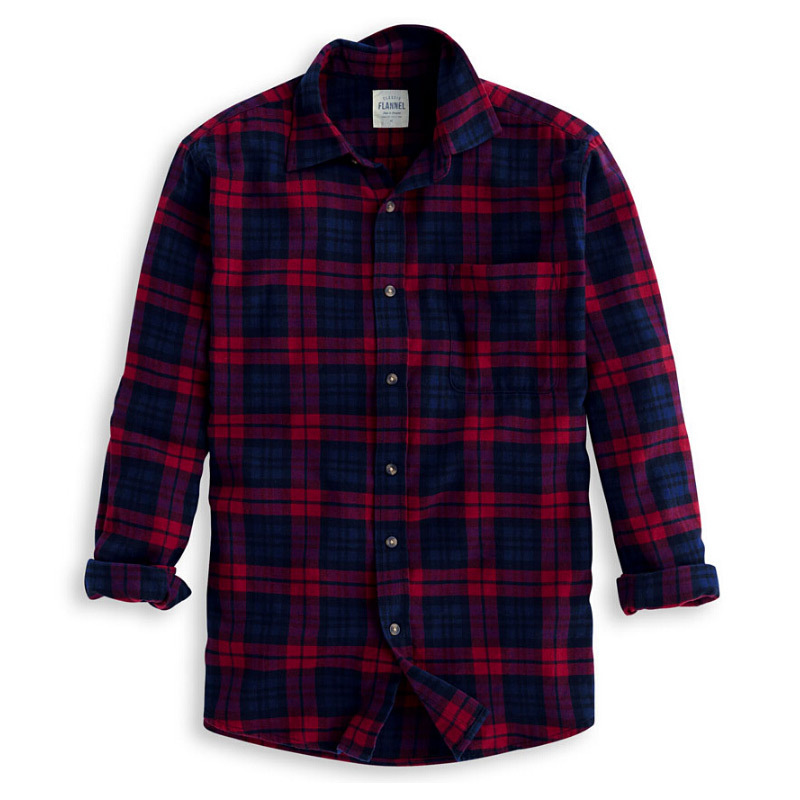 Wear flannel shirts to get warmth in winters for Red and white plaid shirt mens