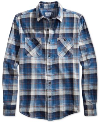 flannel shirts for men american rag barclay flannel shirt SHEIHLB