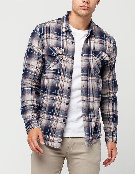 flannel shirts for men valor brownsville mens flannel shirt RRCONGM