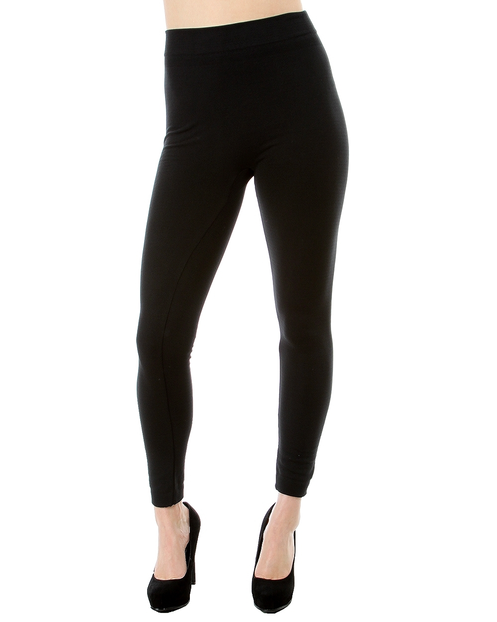 fleece leggings black plus size fleece lined leggings IHVTQXP