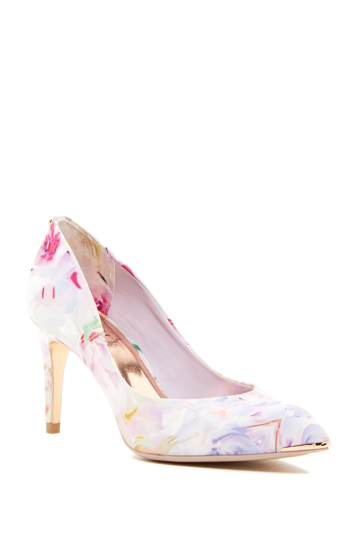 floral pump image of ted baker london charmesa 2 floral satin pump RXVNSSA
