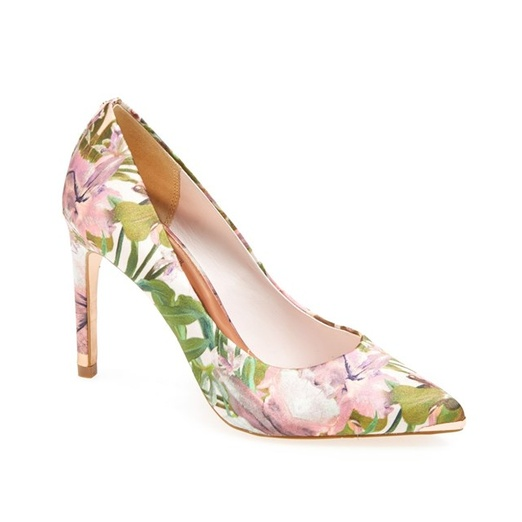 floral pump shoes · pumps DEJLZWG