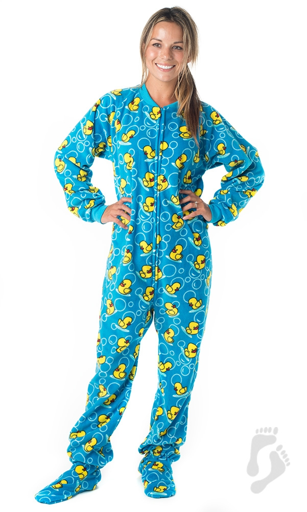 footie pajamas splish splash blue pajamas ©footed pajamas DFCYZUS