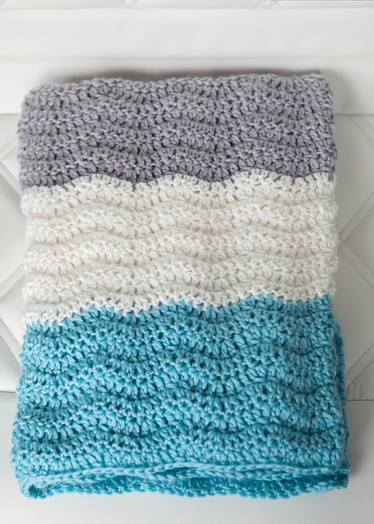 Free Baby Blanket Crochet Patterns Free Chevron Baby Blanket Crochet