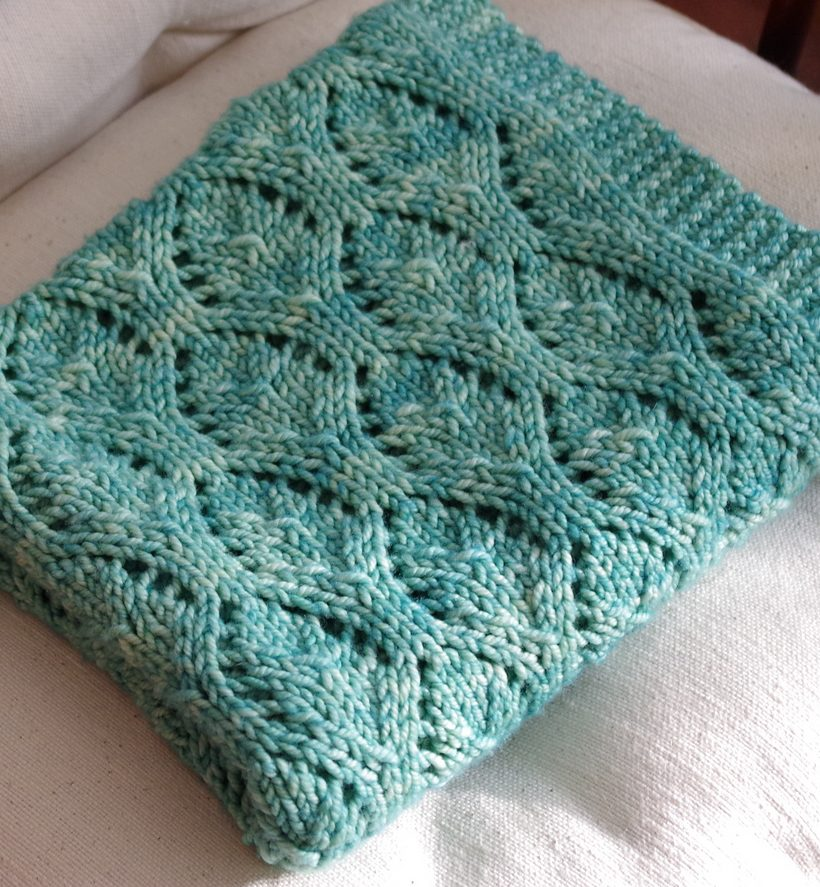 Knitting Designs For Newborn Babies : Different types of free baby blanket knitting patterns