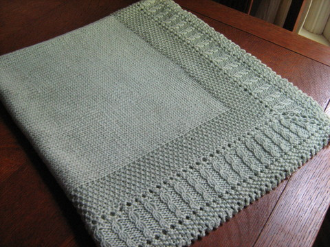 Different types of free baby blanket knitting patterns ...