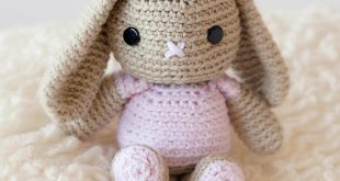 free crochet bunny pattern! - leelee knitsleelee knits FXWGIYT