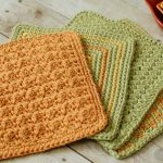 Free crochet dishcloth patterns for easy crocheting