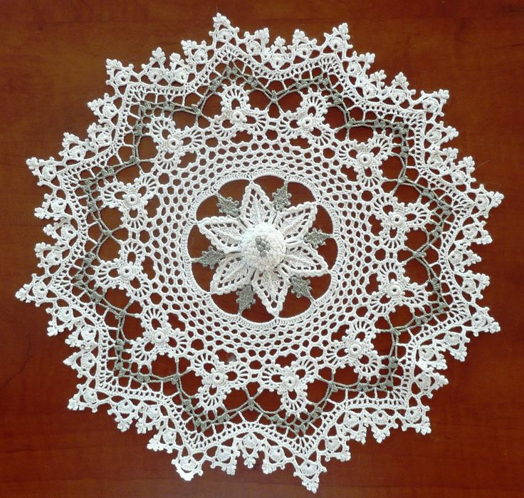 free crochet doily patterns | 46 irish mystique doily LVRJUCB