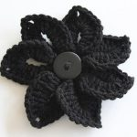 Project ideas and free crochet flower patterns for crocheting flowers