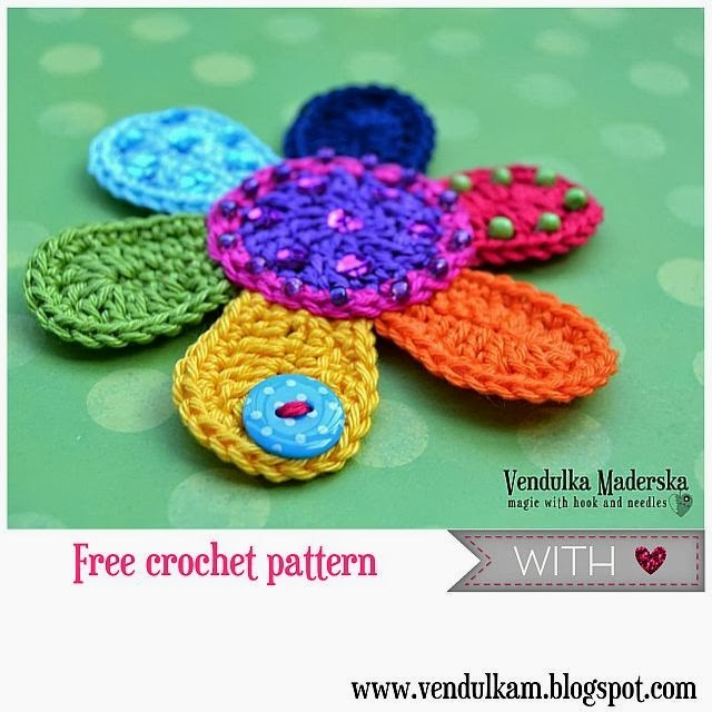 free crochet flower patterns 23. JFJKFHD