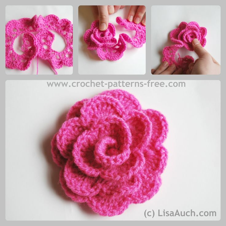 free crochet flower patterns CVNFBDY