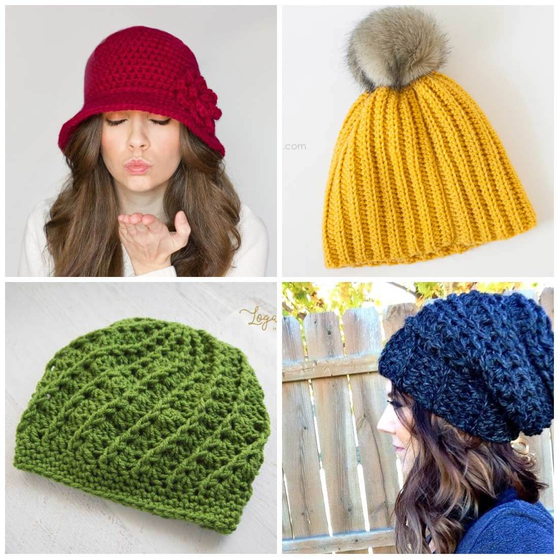 free crochet hat patterns | free crochet patterns | crochet patterns | use  these WSIVNHW