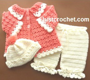 free crochet patterns for babies chic-free-crochet-patterns-for-girls-crochet-baby- AHRHKFO