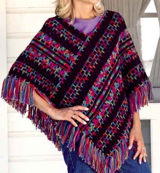 free crochet poncho patterns crochet poncho pattern free POWCXAI
