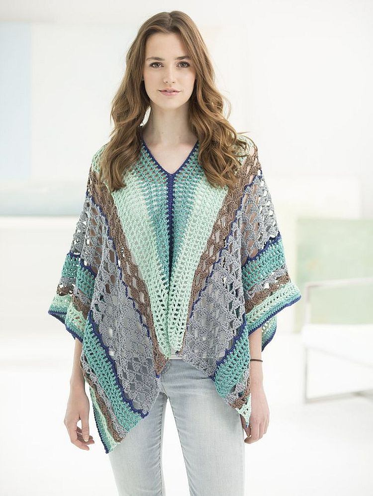 The Best Of Free Crochet Poncho Patterns That You Can Easily Create