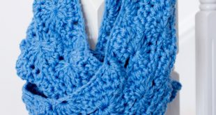 free crochet scarf patterns pretty chunky crochet infinity scarf EOGYRJI