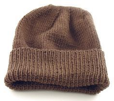 free knitting pattern: easy-to-knit hat (suitable for soldiers/troops RKBMNTU