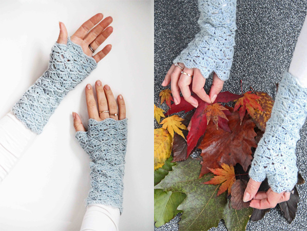 Fingerless Gloves With Flap Crochet Pattern Gallery Knitting