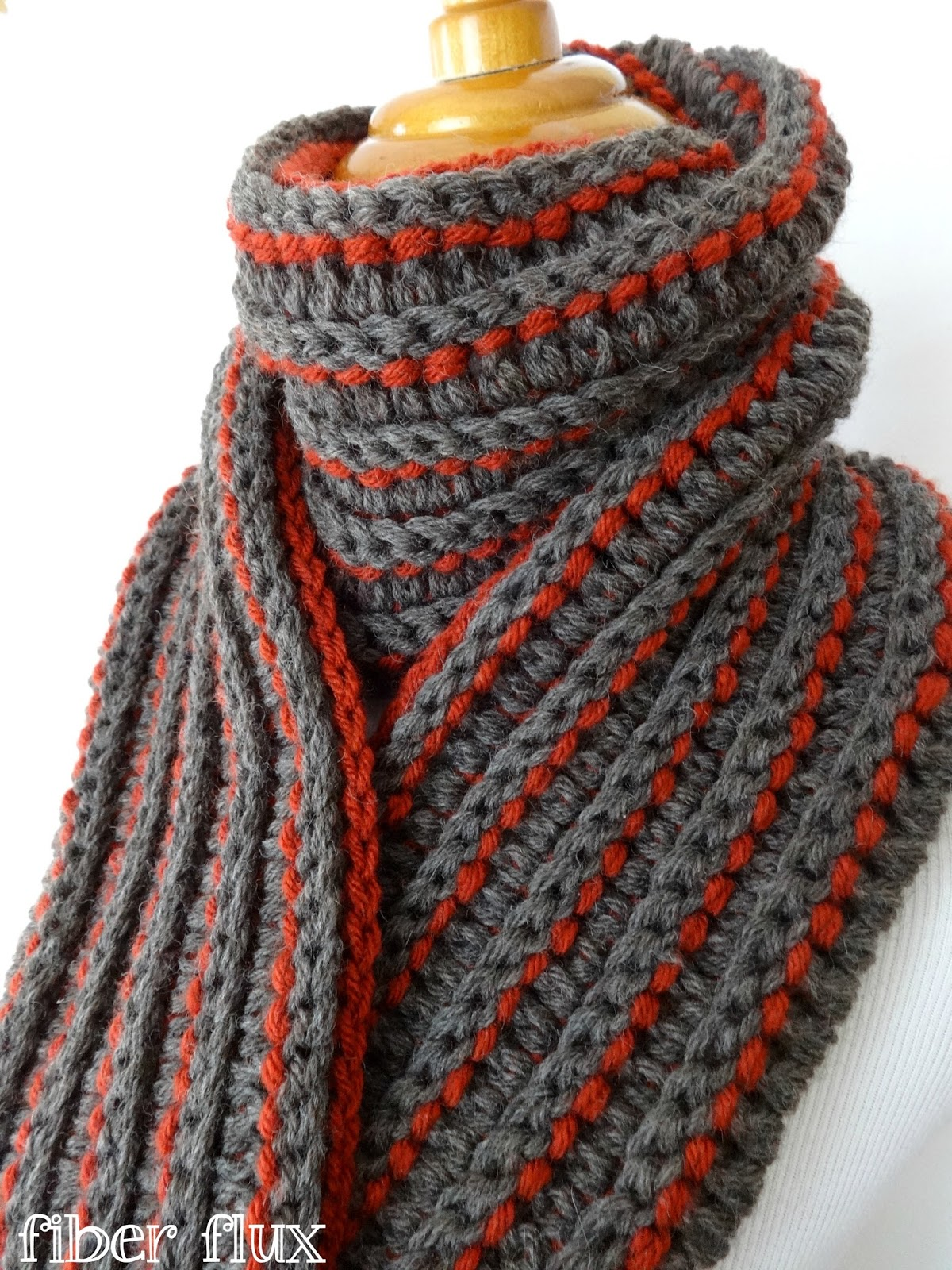 free scarf crochet patterns free crochet pattern...the every man scarf PQJGHYR