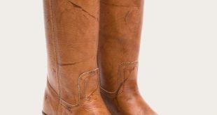 fry boots frye | campus 14l - saddle JBJYMQC