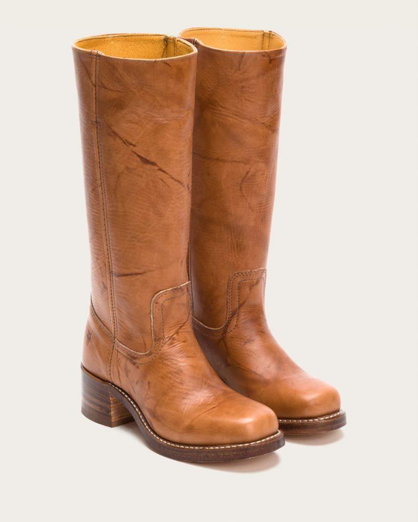 fry boots frye | campus 14l – saddle JBJYMQC