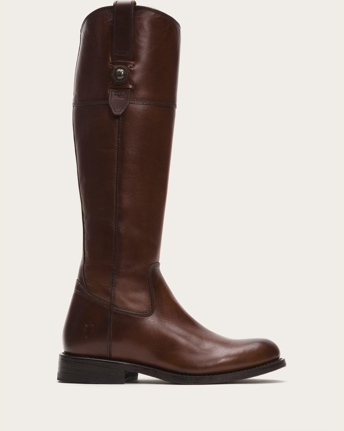 fry boots frye   jayden button tall - black ALTWNAN