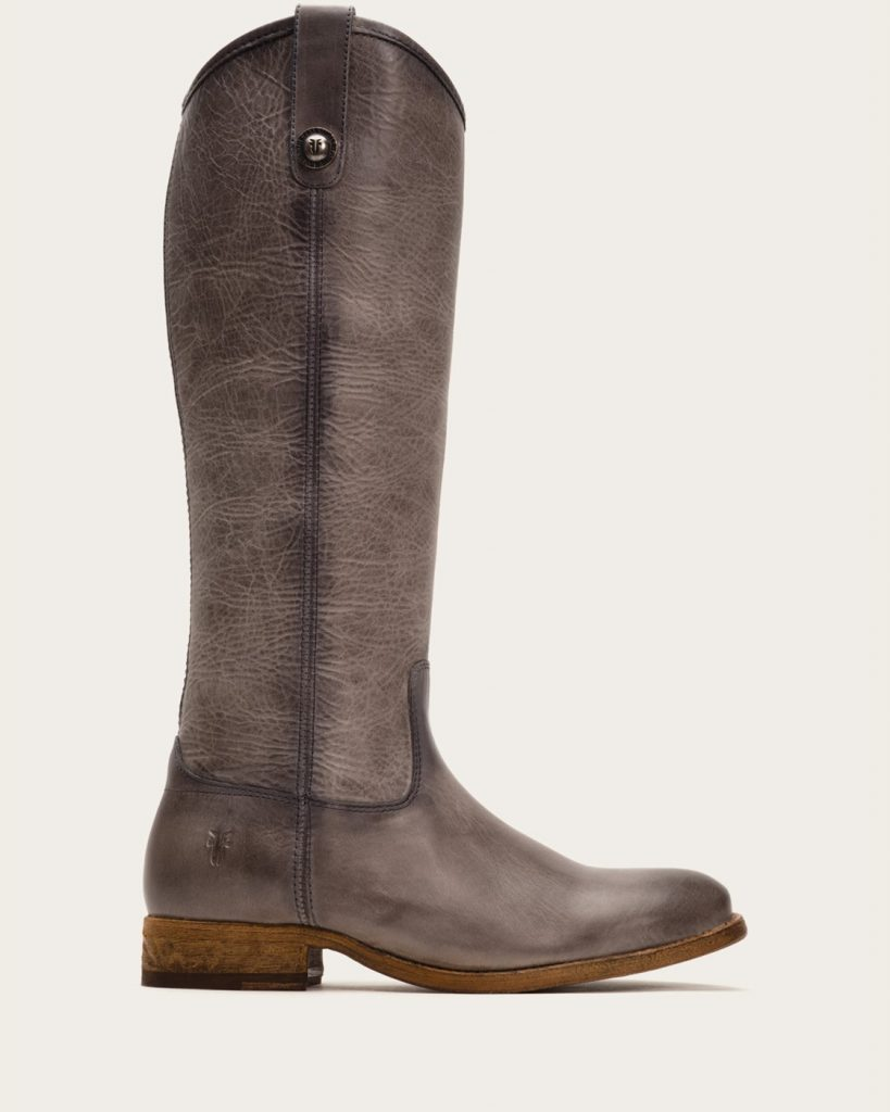 fry boots frye | melissa button – burgundy WICCAKN