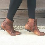 Different types of brown ankle boots