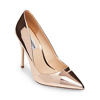 gold heels daisie JIHOLJY