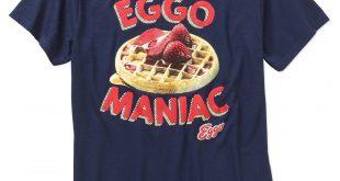 graphic t shirts kelloggu0027s eggo waffles mens graphic tee WYWKIQE