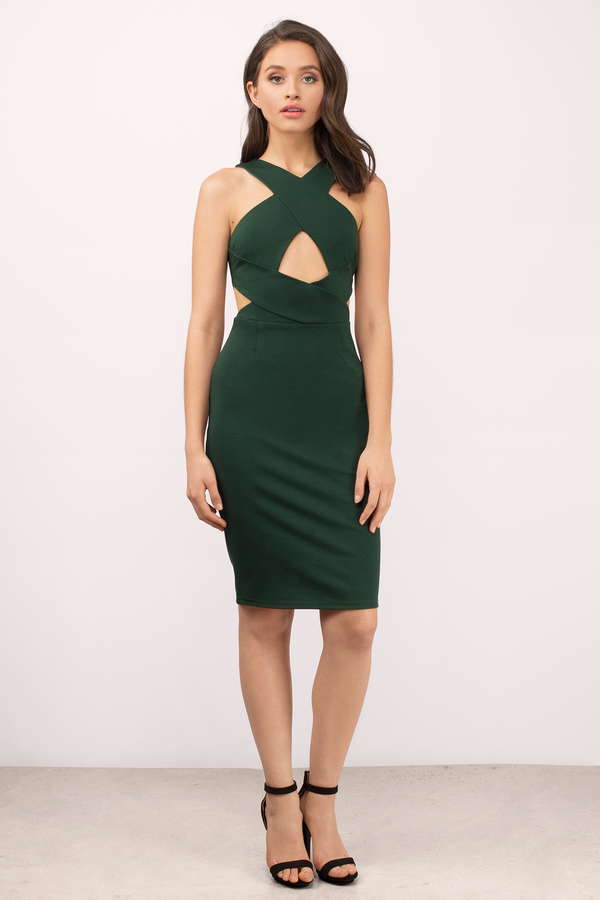 green dress green dresses, green, stars align bodycon midi dress, ... WVKZIPJ