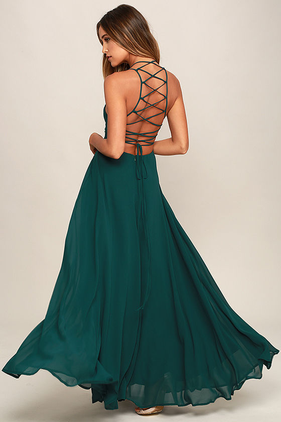 green dress strappy to be here forest green maxi dress 1 DPHZJGW