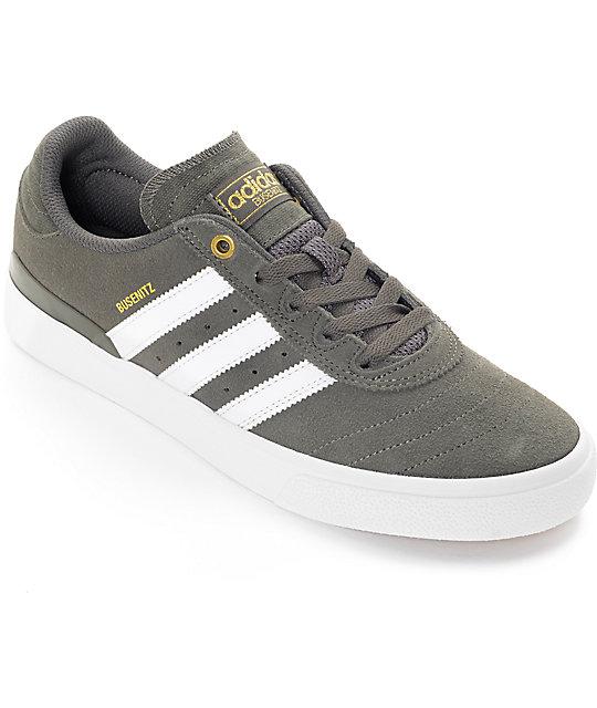 grey shoes adidas busenitz vulc adv utility grey u0026 white shoes CBDOZJQ