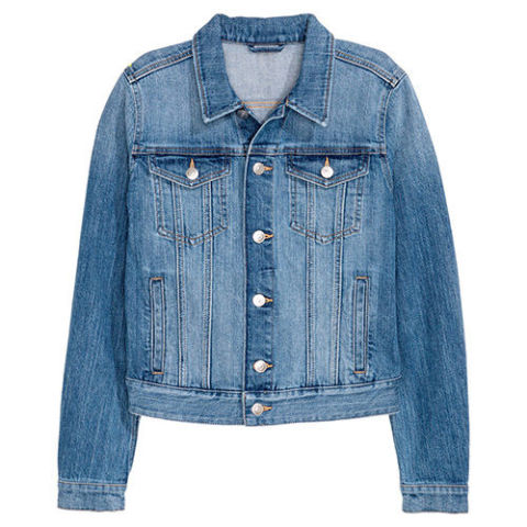 hu0026m denim jacket LJBEZWO
