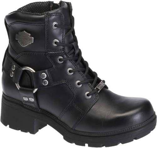 harley boots harley-davidson® womenu0027s jocelyn 5.5-in black leather motorcycle boots.  d83775 ILHZPPN