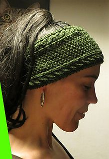 headband knitting pattern free knitting pattern: headband green forest on ravelry OJWXBAS