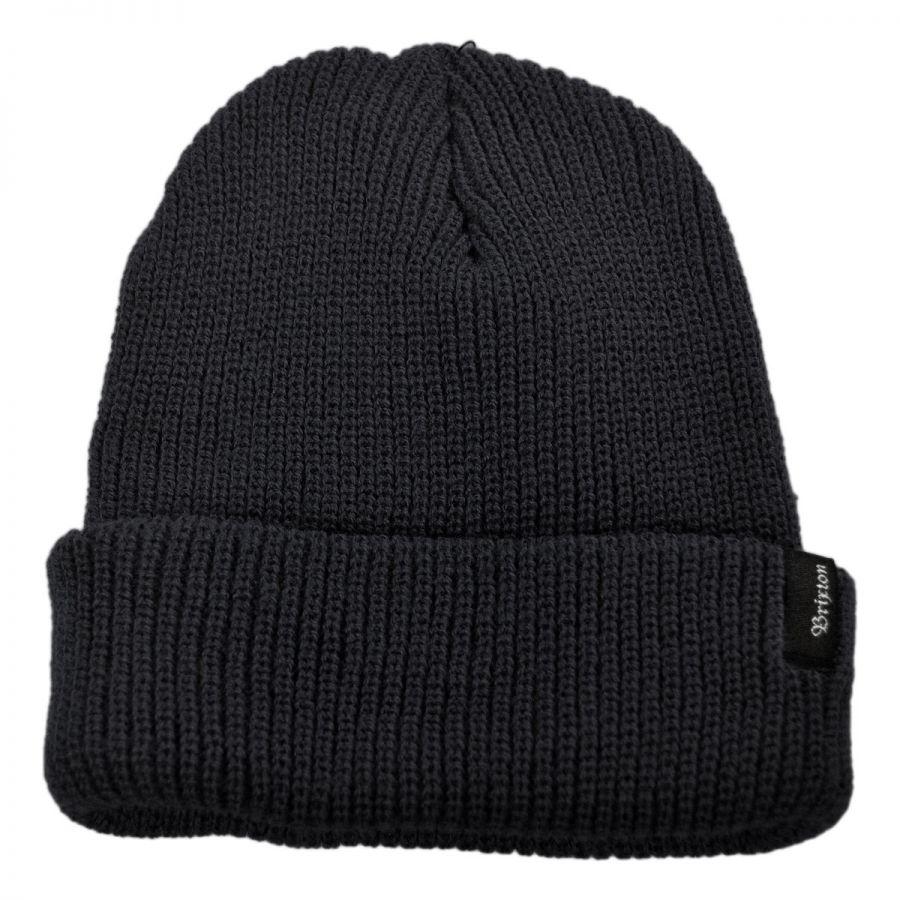 heist knit acrylic beanie hat DUIQGAF