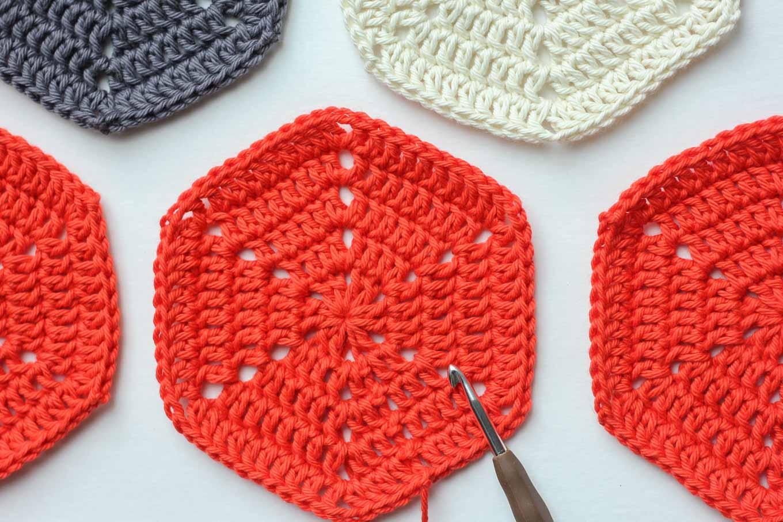 hexagon crochet pattern basic crochet hexagon pattern + tips and clear photos VATJLZF