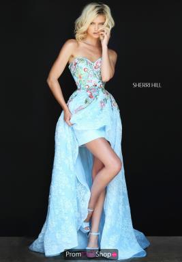 high low prom dresses sherri hill dress 50966 AEIWOMV