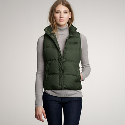 highland puffer vest : allproducts | j.crew WYOWYSH