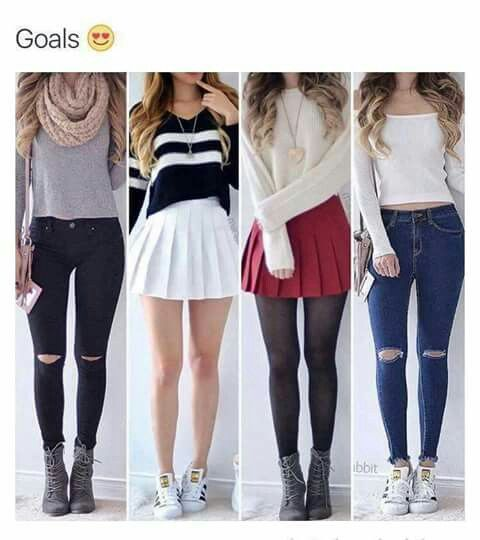 highschool back to school shopping cute outfits FIMQXQY