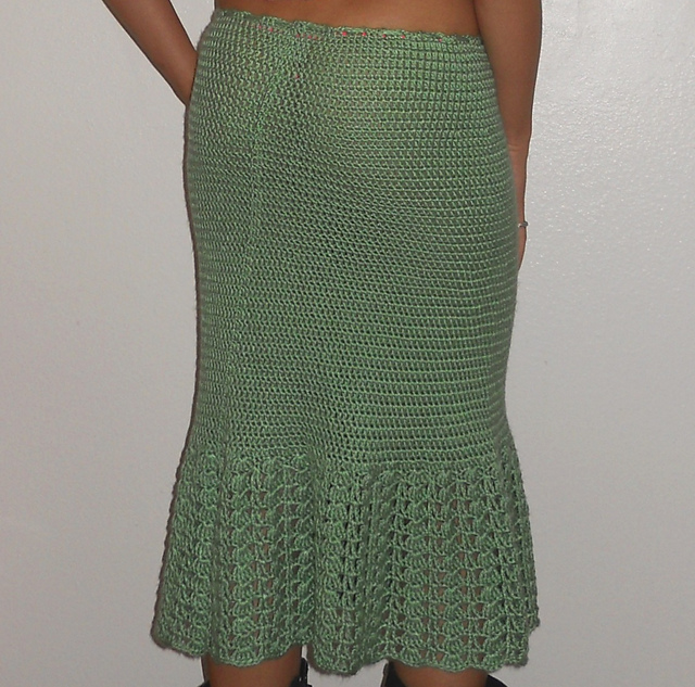hip hugging crochet skirt pattern IVKDLGD
