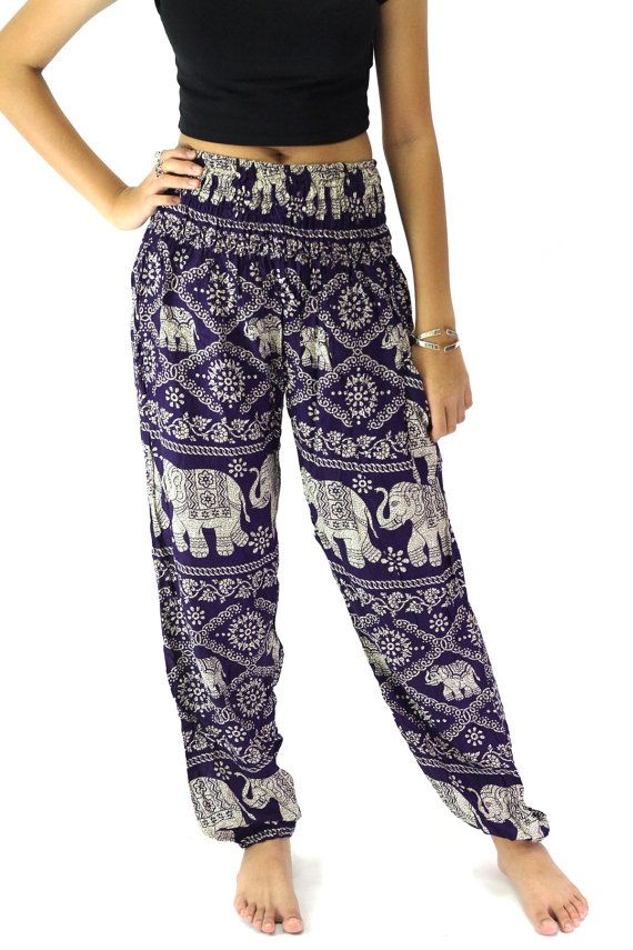 Modern and contemporary hippie pants