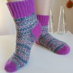 Your guide on crochet socks