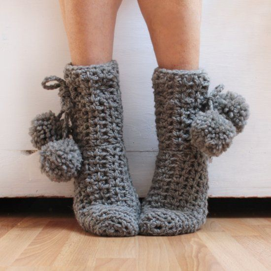 how to make simple crochet socks! you will learn to make simple socks with VRCCVEP