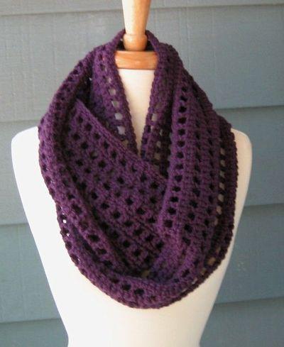 infinity scarf crochet pattern free pattern: artfully simple infinity scarf. crochet ... IREYYKP